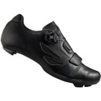 Lake CX176 Wide Fit Road Shoes - Black/Grey - EU 46