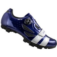 Lake MX176 MTB Shoes - Navy Blue/White - EU 45