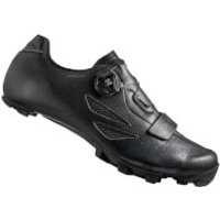 Lake MX218 Carbon MTB Shoes - Black/Grey - EU 46