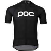 POC Essential Road Logo Jersey - M - Black
