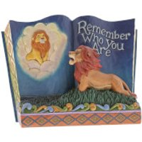Disney Traditions Remember Who You Are (Storybook The Lion King) 14.0cm - Lion King Gifts