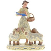 Disney Traditions Bookish Beauty (Belle with Sheep Figurine) 21.0cm - Princess Belle Gifts
