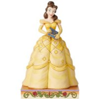 Disney Traditions Book-Smart Beauty (Belle Princess Passion Figurine) 19.0cm - Princess Belle Gifts
