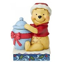 Disney Traditions Holiday Hunny (Winnie the Pooh Christmas Figurine) - Holiday Gifts