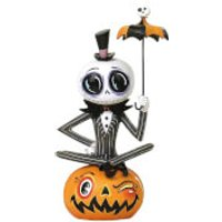 Enesco The World of Miss Mindy Presents Disney Statue Jack Skellington (Nightmare Before Christmas) 18 cm - Presents Gifts