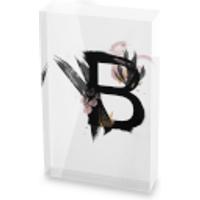 Wabi-Sami - Letter Glass Block - 80mm x 60mm - B
