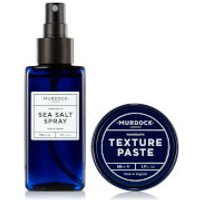 Murdock London Sea Salt Spray and Texture Paste Bundle (Worth £38)