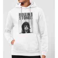 Rolling Stones Keith Smoking Hoodie - White - M - White - Smoking Gifts