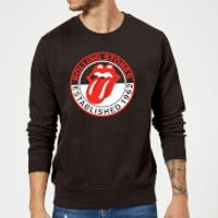 Rolling Stones Est 62 Sweatshirt - Black - XL - Black