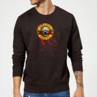 Guns N Roses Bloody Bullet Sweatshirt - Black - 5XL - Black - Scary Gifts
