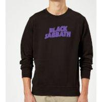 Black Sabbath Logo Sweatshirt - Black - XL - Black