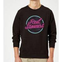 Rod Stewart Neon Sweatshirt - Black - L - Black