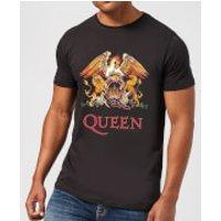 Queen Crest Men's T-Shirt - Black - S - Black