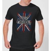 Sex Pistols Union Jack Men's T-Shirt - Black - XXL - Black - Union Jack Gifts