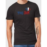 The Jam Text Logo Men's T-Shirt - Black - 5XL - Black