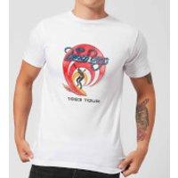 The Beach Boys Surfer 83 Mens T-Shirt - White - M - White