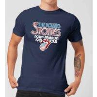 Rolling Stones 81 Tour Logo Men's T-Shirt - Navy - M - Navy