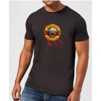 Guns N Roses Bloody Bullet Men's T-Shirt - Black - XXL - Black - Horror Gifts