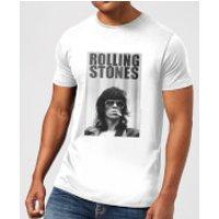 Rolling Stones Keith Smoking Men's T-Shirt - White - XXL - White - Smoking Gifts