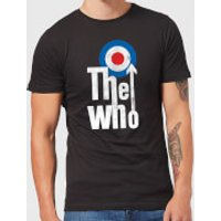 The Who Target Logo Men's T-Shirt - Black - M - Black