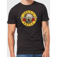 Guns N Roses Bullet Men's T-Shirt - Black - XXL - Black