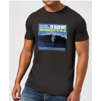 The Beach Boys Surfin USA Mens T-Shirt - Black - 3XL - Black