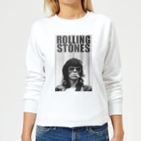 Rolling Stones Keith Smoking Women's Sweatshirt - White - XS - White