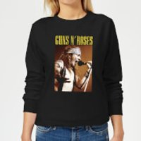 Guns N Roses Axel Live Women's Sweatshirt - Black - L - Black