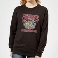 Guns N Roses Illusion Tour Women's Sweatshirt - Black - S - Black