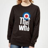 The Who Target Logo Women's Sweatshirt - Black - L - Black