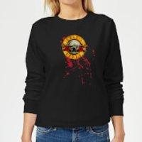 Guns N Roses Bloody Bullet Women's Sweatshirt - Black - 5XL - Black - Horror Gifts