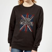 Sex Pistols Union Jack Women's Sweatshirt - Black - S - Black