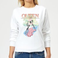 Queen Vintage Tour Women's Sweatshirt - White - M - White