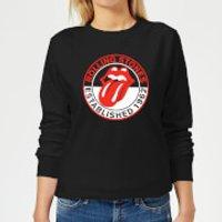 Image of Rolling Stones Est 62 Women's Sweatshirt - Black - 5XL - Black