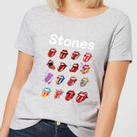 Rolling Stones No Filter Tongue Evolution Women's T-Shirt - Grey - M - Grey