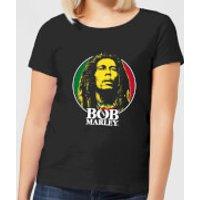 Bob Marley Face Logo Women's T-Shirt - Black - XXL - Black - Bob Marley Gifts
