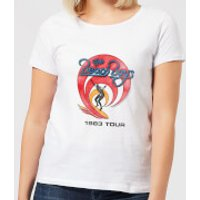 The Beach Boys Surfer 83 Womens T-Shirt - White - M - White
