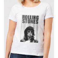 Rolling Stones Keith Smoking Women's T-Shirt - White - XXL - White - Smoking Gifts