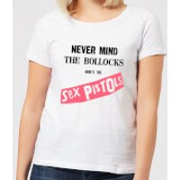Sex Pistols Never Mind The B*llocks Women's T-Shirt - White - M - White