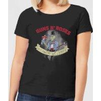 Guns N Roses Jungle Skeleton Women's T-Shirt - Black - M - Black