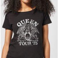 Queen Tour 75 Women's T-Shirt - Black - L - Black