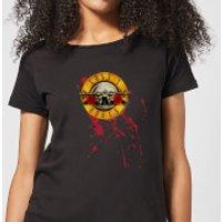 Guns N Roses Bloody Bullet Women's T-Shirt - Black - XXL - Black - Horror Gifts