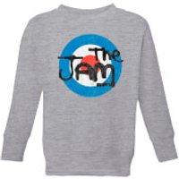 The Jam Target Logo Kids' Sweatshirt - Grey - 11-12 Years - Grey