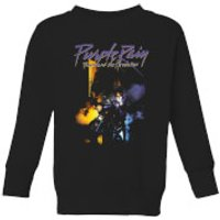 Prince Purple Rain Kids' Sweatshirt - Black - 11-12 Years - Black