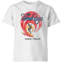 The Beach Boys Surfer 83 Kids T-Shirt - White - 7-8 Years - White