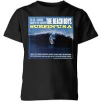 The Beach Boys Surfin USA Kids T-Shirt - Black - 11-12 Years - Black