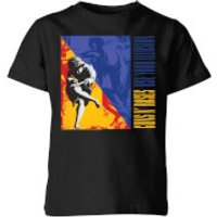 Guns N Roses Use Your Illusion Kids' T-Shirt - Black - 7-8 Years - Black