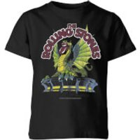 Rolling Stones Dragon Tongue Kids' T-Shirt - Black - 11-12 Years - Black - Rolling Stones Gifts