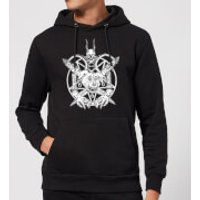 Mr Pickles Pentogram Drawn Dog Head Hoodie - Black - L - Black