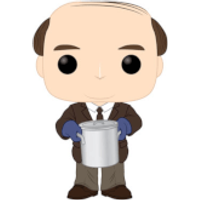 The Office Kevin Malone with Chili Pop! Vinyl Figure - Office Gifts